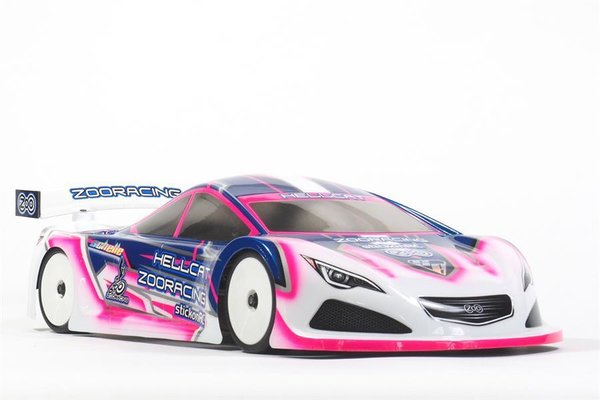 ZooRacing ZR-0006-05 - HellCat - 1:10 Tourenwagen Karosserie - 0.5mm LIGHTWEIGHT